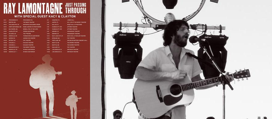 Ray LaMontagne at The Chicago Theatre