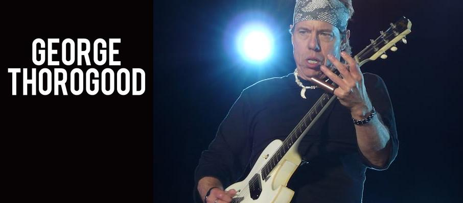 George Thorogood at Genesee Theater