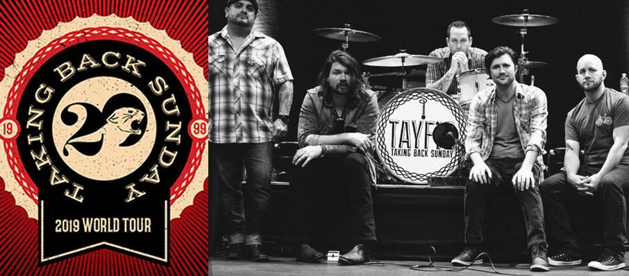 Taking Back Sunday at Concord Music Hall