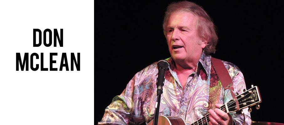 Don McLean at City Winery