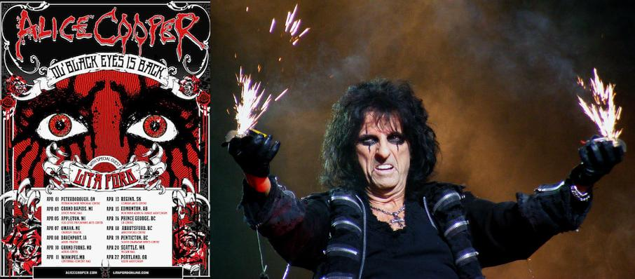 Alice Cooper at Genesee Theater