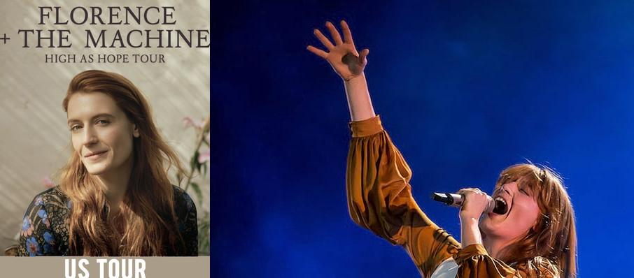 Florence and the Machine at Huntington Bank Pavilion