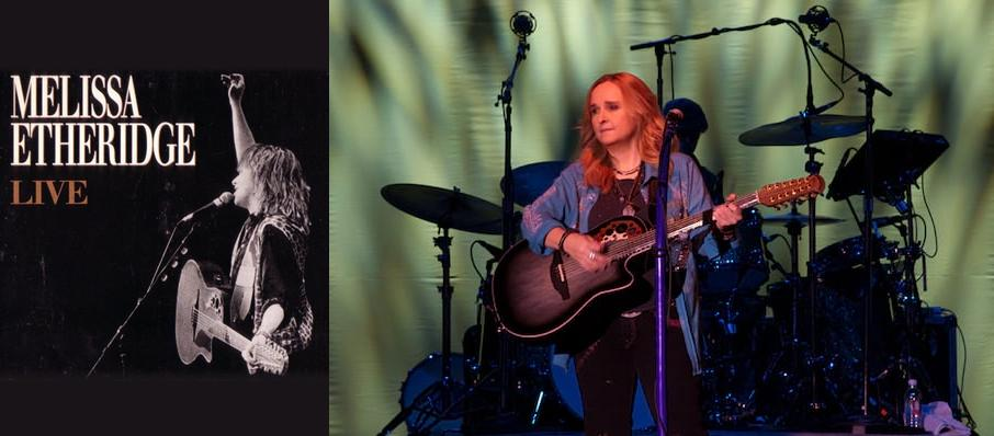Melissa Etheridge at Genesee Theater
