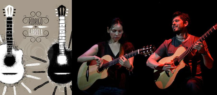 Rodrigo Y Gabriela at The Chicago Theatre