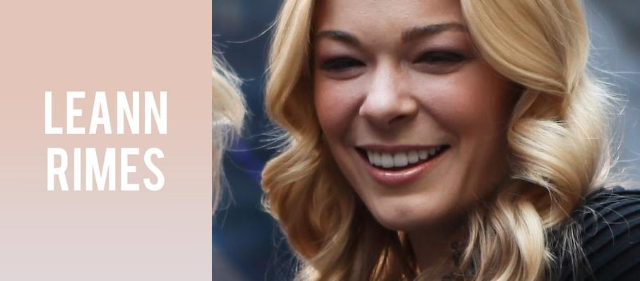 LeAnn Rimes at Genesee Theater