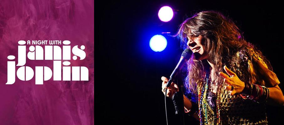 A Night with Janis Joplin at Genesee Theater
