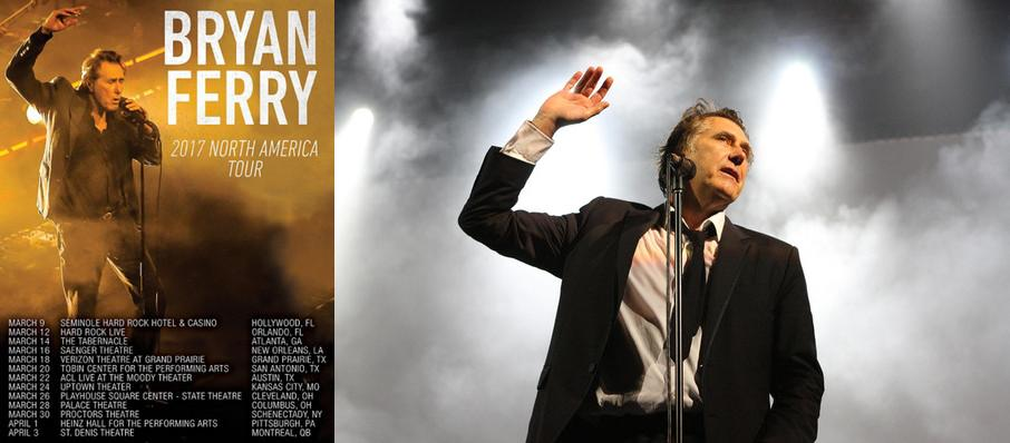 Bryan Ferry at The Chicago Theatre