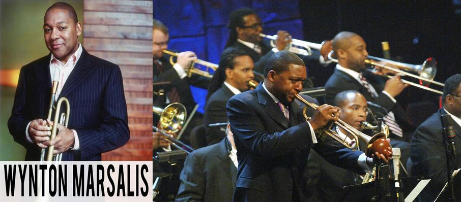 The Jazz at Lincoln Center Orchestra: Wynton Marsalis at Symphony Center Orchestra Hall