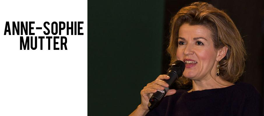 Anne-Sophie Mutter at Symphony Center Orchestra Hall