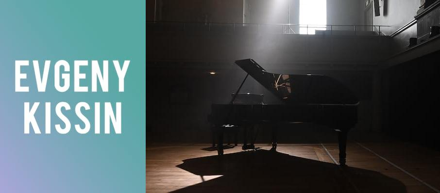 Evgeny Kissin at Symphony Center Orchestra Hall