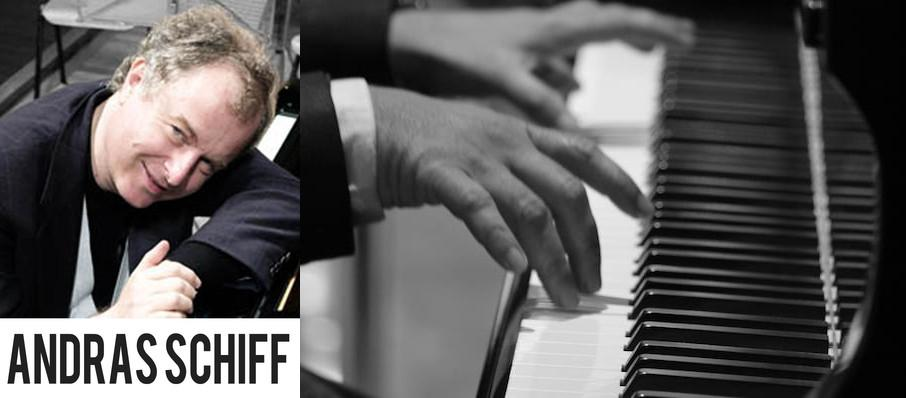 Andras Schiff at Symphony Center Orchestra Hall
