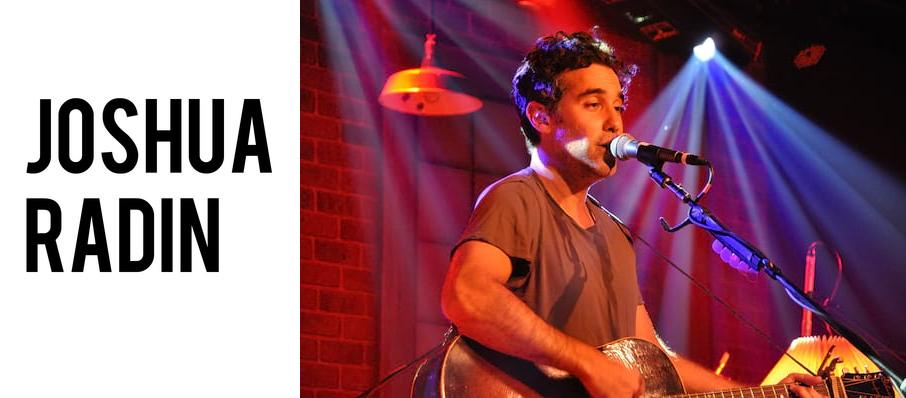 Joshua Radin at Thalia Hall