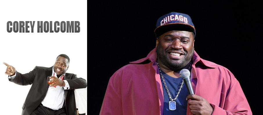 Corey Holcomb at Chicago Improv