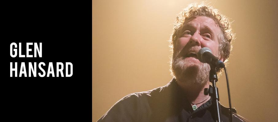 Glen Hansard at The Chicago Theatre
