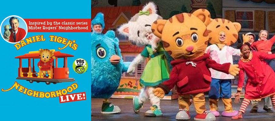 Daniel Tiger's Neighborhood at Genesee Theater