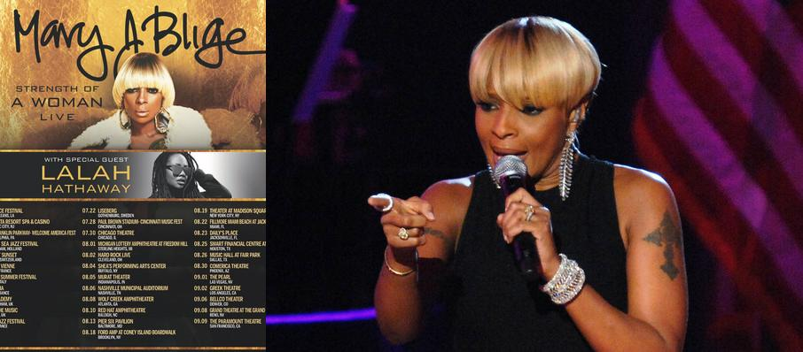Mary J. Blige at The Chicago Theatre