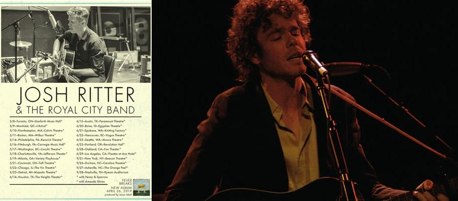Josh Ritter at Vic Theater