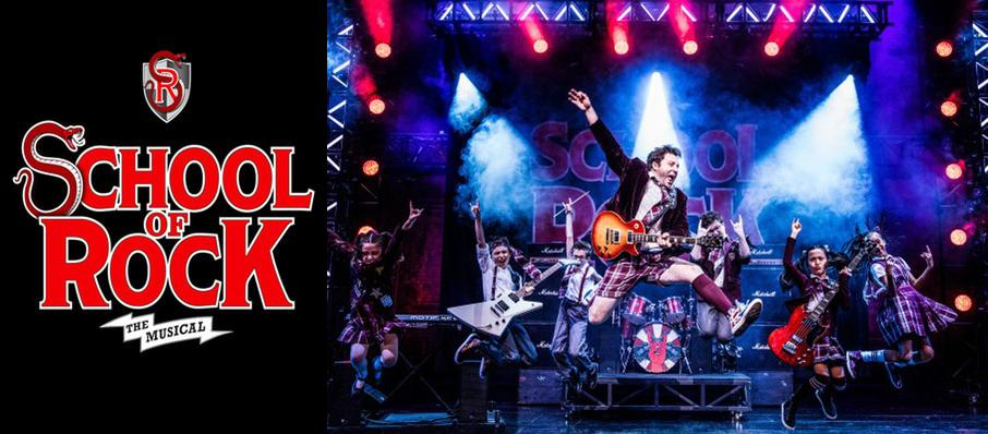 School of Rock at Cadillac Palace Theater