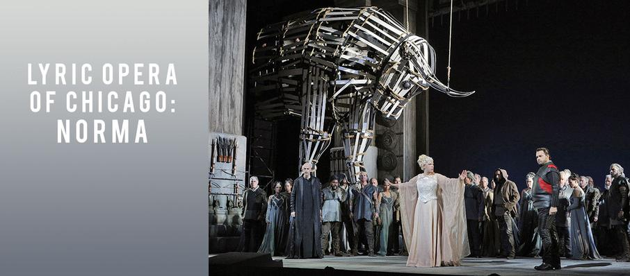 Lyric Opera of Chicago: Norma at Civic Opera House