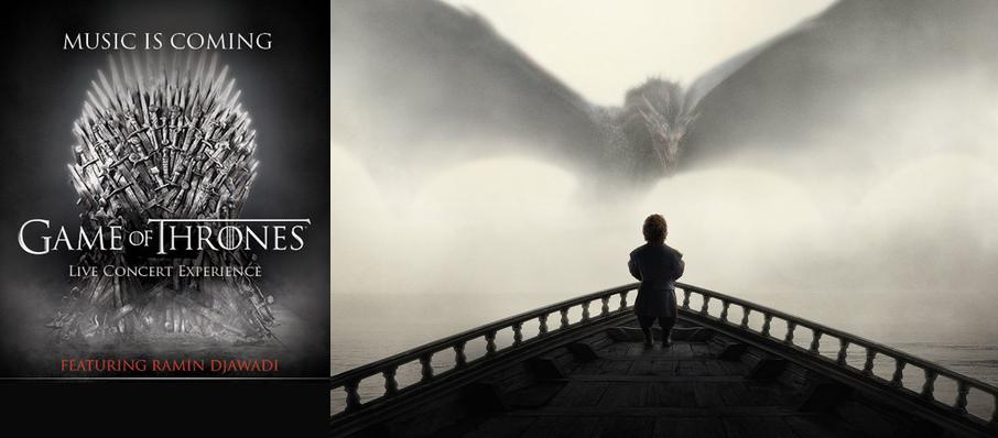 Game of Thrones Live Concert Experience: Ramin Djawadi at Hollywood Casino Amphitheatre IL