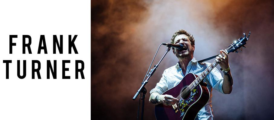 Frank Turner at Athenaeum Theater
