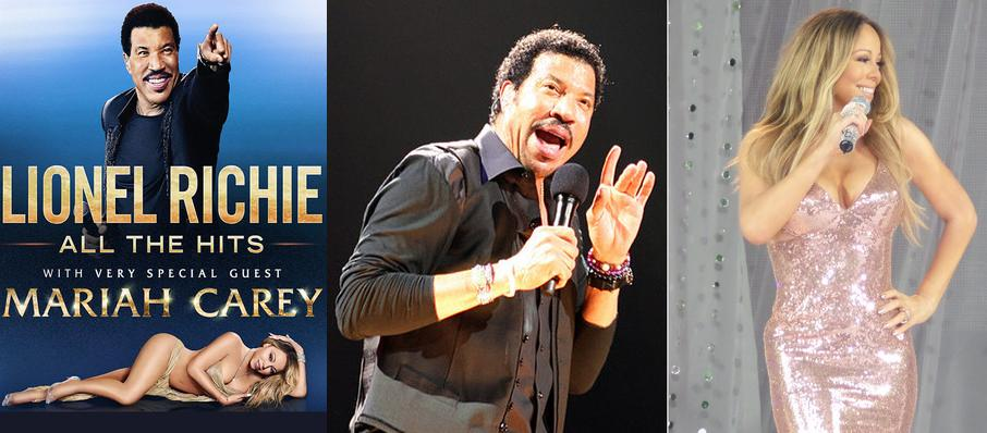 Lionel Richie with Mariah Carey at United Center