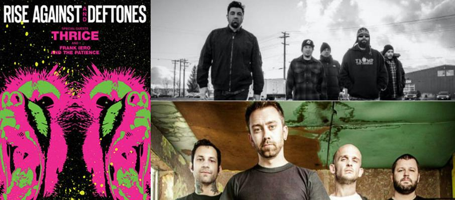 Deftones with Rise Against at FirstMerit Bank Pavilion