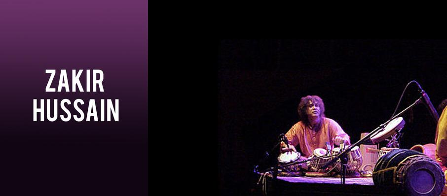 Zakir Hussain at Symphony Center Orchestra Hall