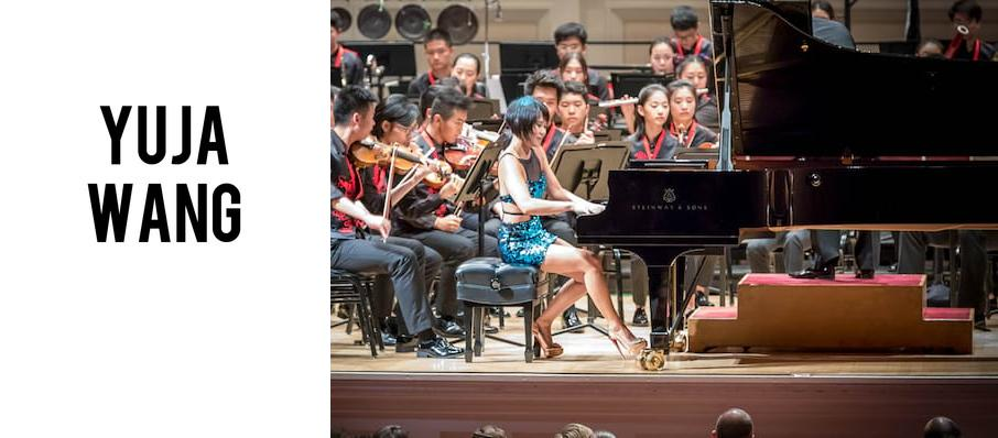Yuja Wang at Symphony Center Orchestra Hall