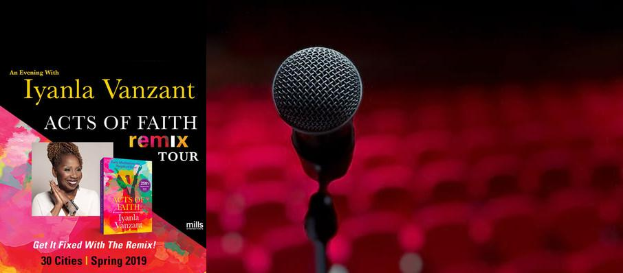 Iyanla Vanzant at The Chicago Theatre