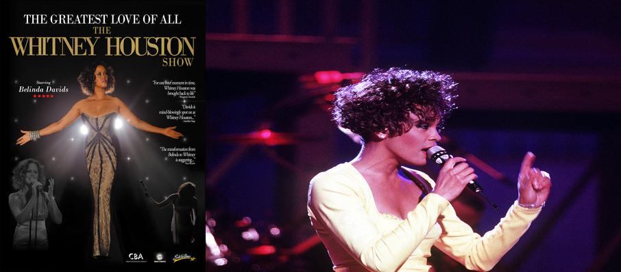The Greatest Love of All - Whitney Houston Tribute at Genesee Theater