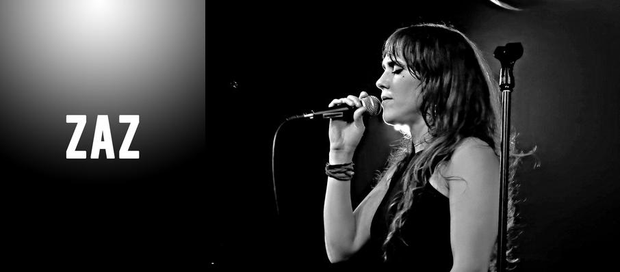 Zaz at Athenaeum Theater