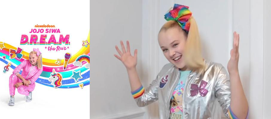 Jojo Siwa at TaxSlayer Center
