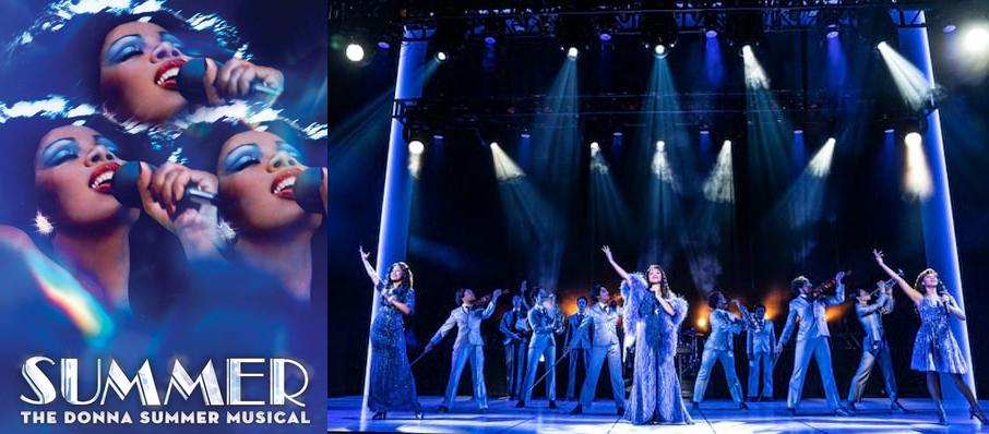 Summer: The Donna Summer Musical at James M. Nederlander Theatre