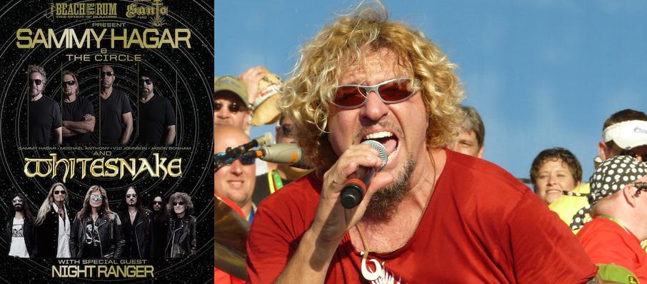 Sammy Hagar at Hollywood Casino Amphitheatre IL