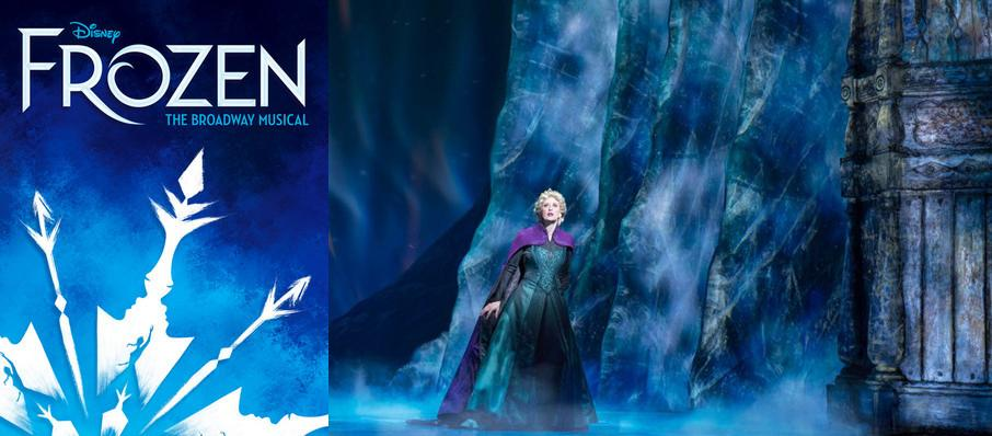 Frozen at Cadillac Palace Theater
