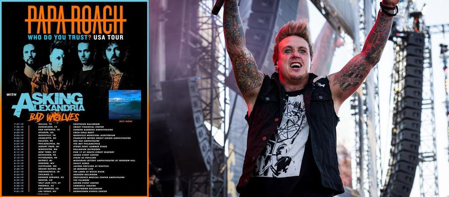 Papa Roach at Aragon Ballroom
