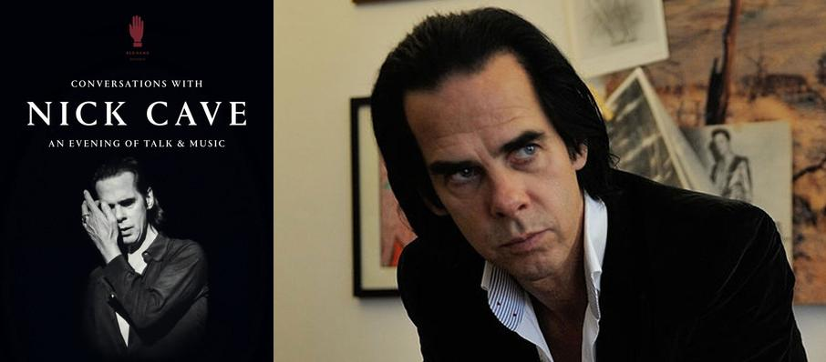 Conversations with Nick Cave at Copernicus Center Theater