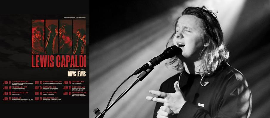 Lewis Capaldi at Thalia Hall