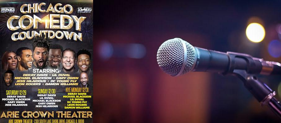 DeRay's Comedy Count Down Festival of Funny at Arie Crown Theater
