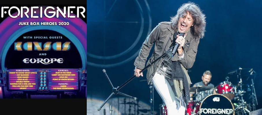 Foreigner with Kansas at Hollywood Casino Amphitheatre Chicago