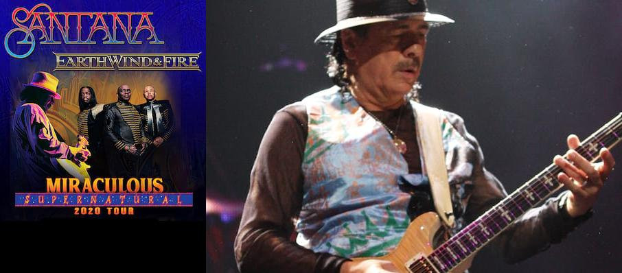 Santana with Earth Wind and Fire at Hollywood Casino Amphitheatre Chicago