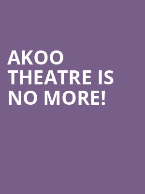 Akoo Theatre is no more