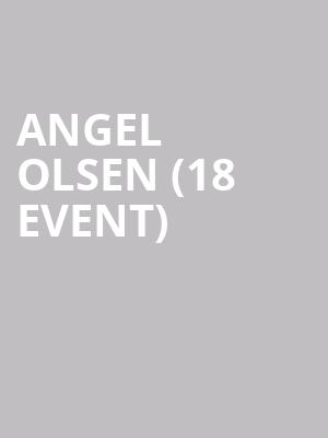 Angel Olsen (18+ Event) at Riviera Theater