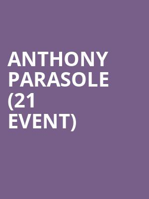 Anthony Parasole (21+ Event) at Metro Smart Bar