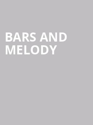 Bars and Melody at Beat Kitchen