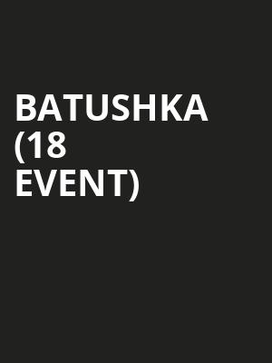 Batushka (18+ Event) at Metro Smart Bar