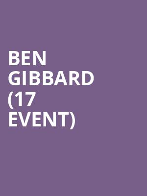 Ben Gibbard (17+ Event) at Thalia Hall