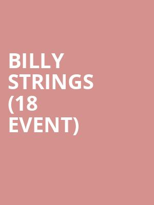 Billy Strings (18+ Event) at Concord Music Hall