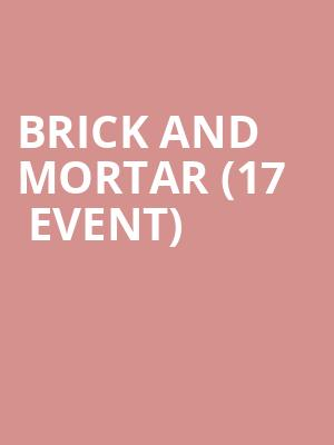 Brick and Mortar (17+ Event) at Beat Kitchen